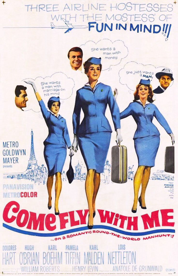 #Sixties | Come Fly With Me, 1963