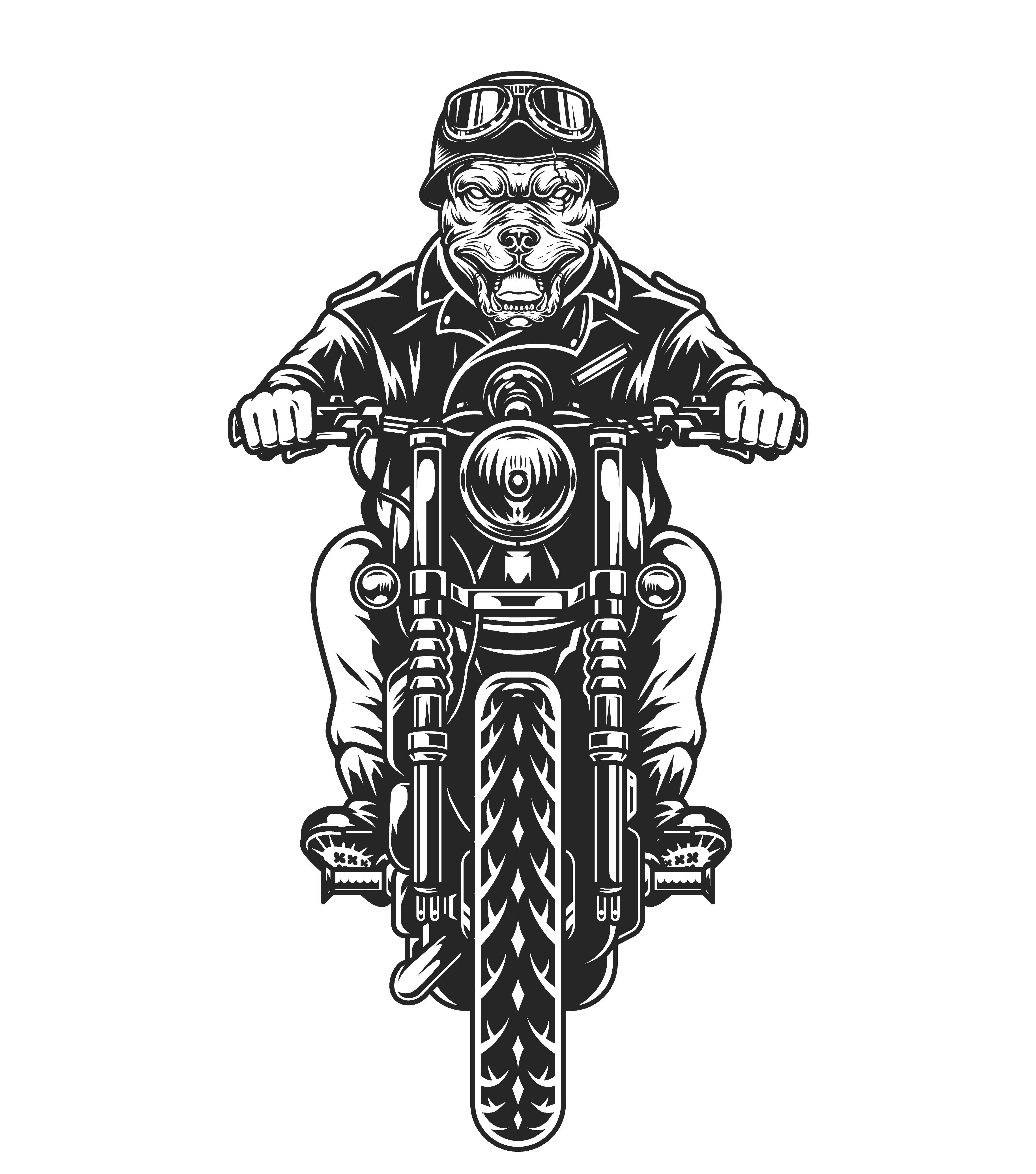 37 Vintage Custom Motorcycle Emblems Motorcycle design
