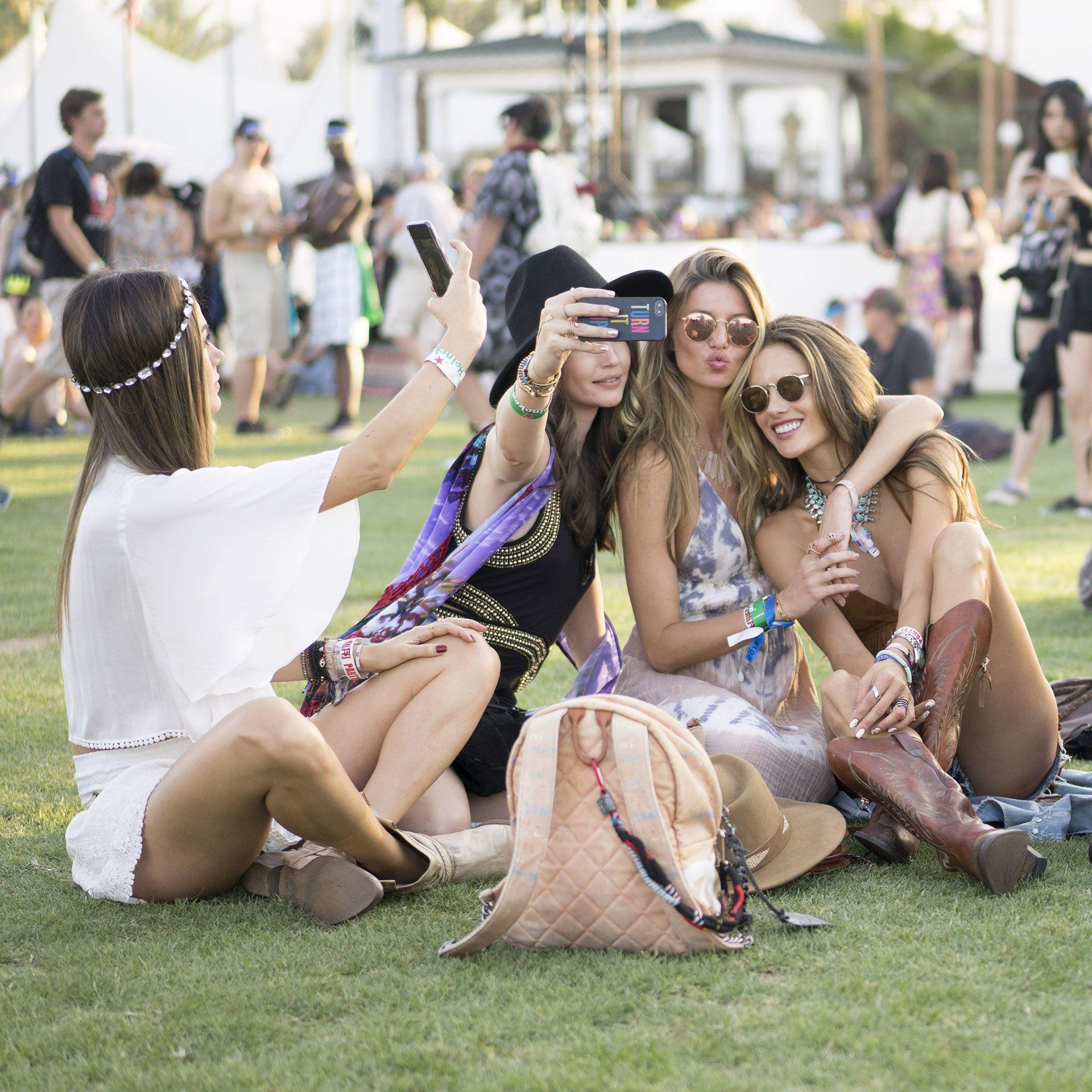 Coachella 2015: as fashionistas no primeiro fim de semana - Vogue | Moda