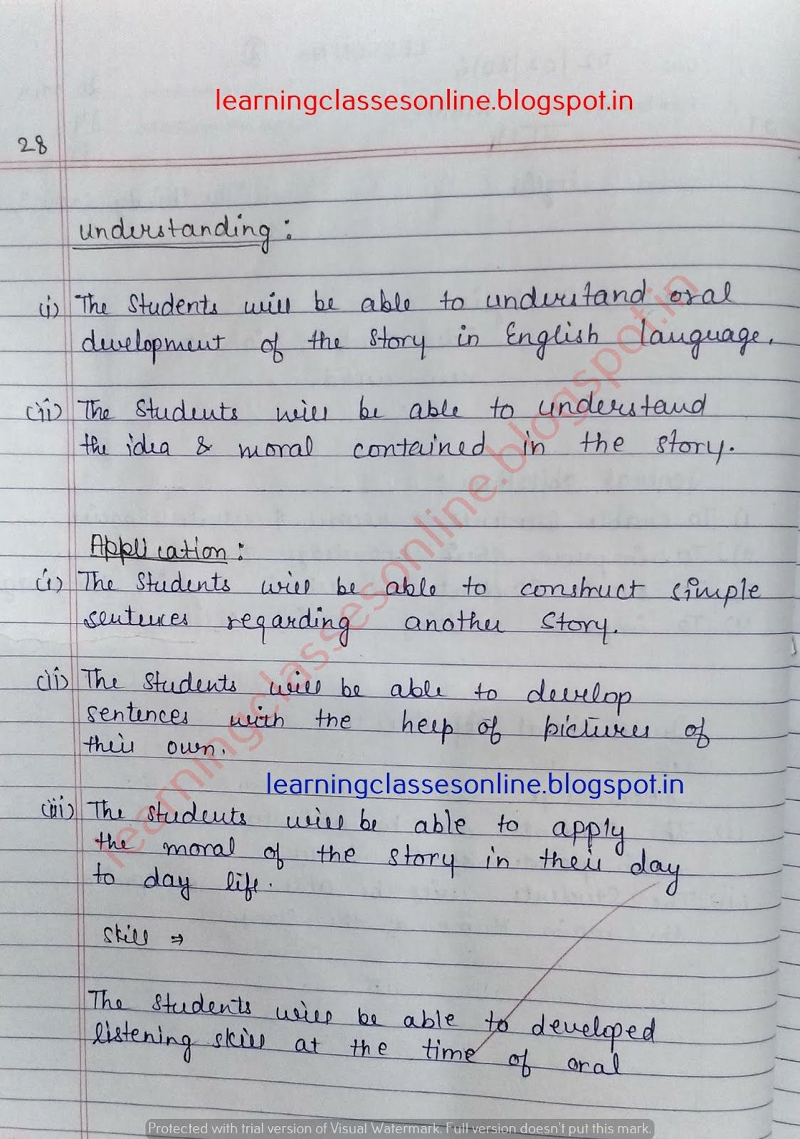 Lesson Plan For English Class 9 Ncert, Lesson Plan For
