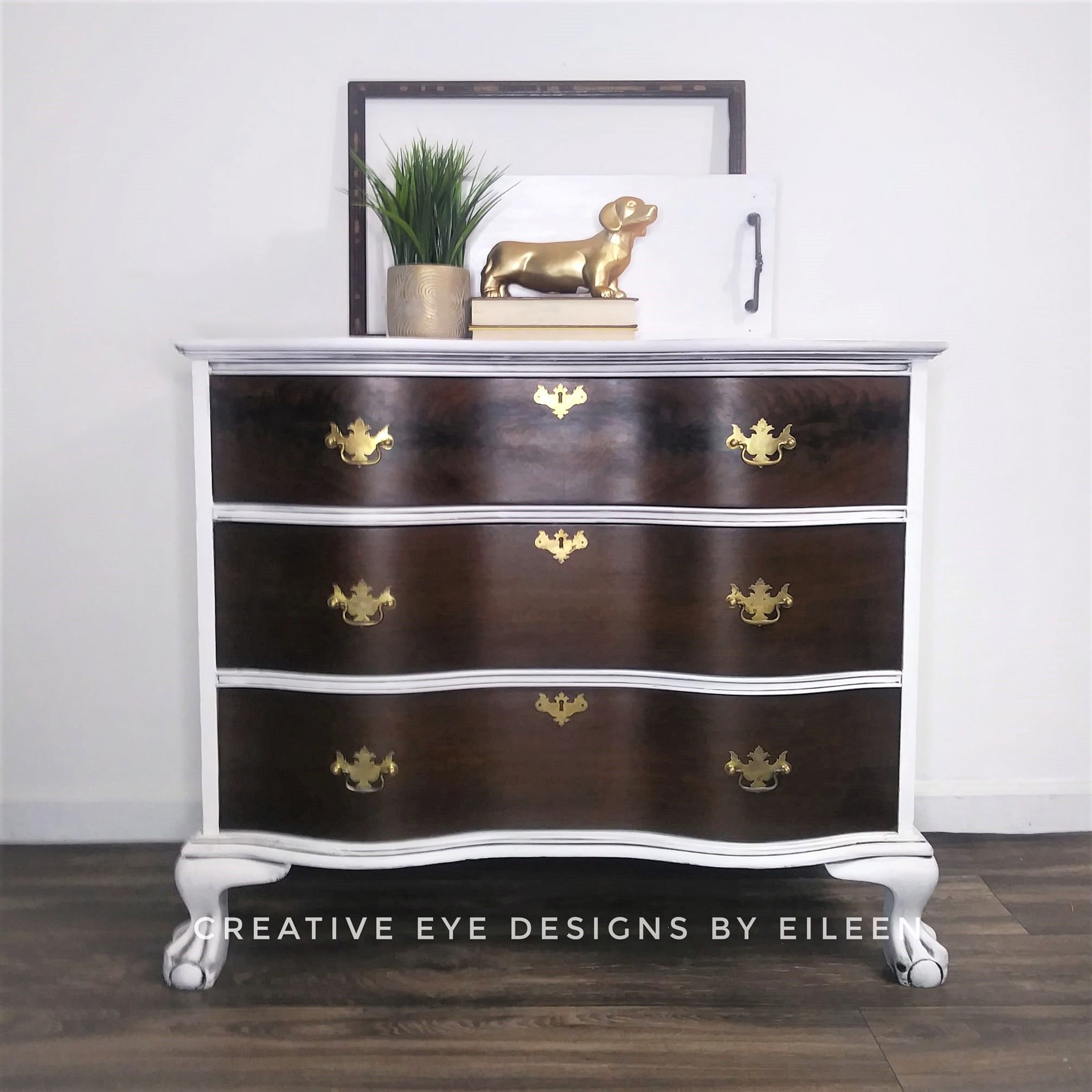 Vintage White Dresser Vintage White Dresser Custom Painted Furniture Furniture Makeover [ 2015 x 2014 Pixel ]