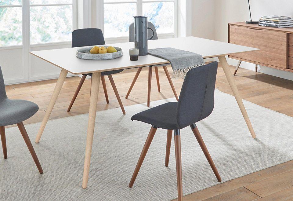 andas Esstisch »stick« mit Massivholzgestell, in zwei Breiten Jetzt - www küchen quelle de