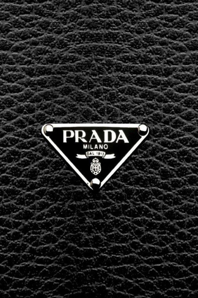 prada logo iphone wallpaper prada pinterest wallpaper
