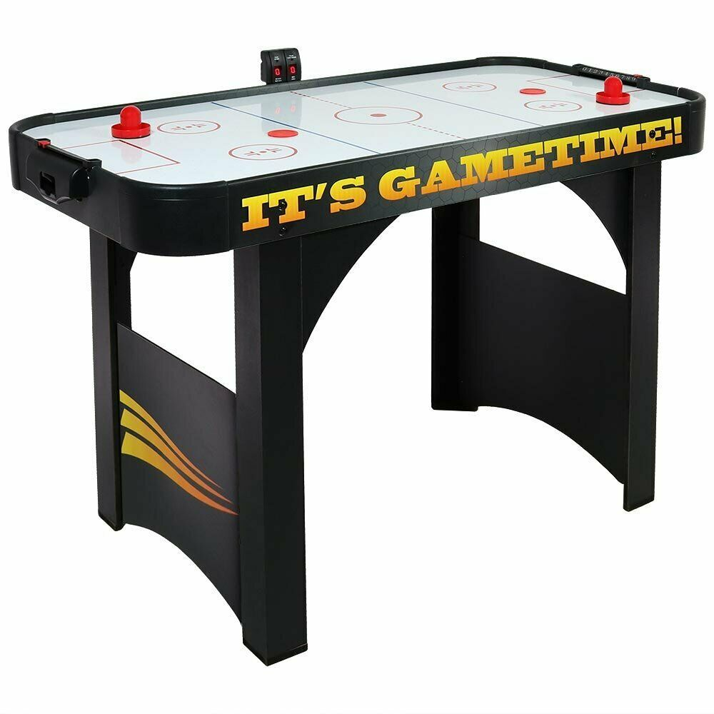 Sunnydaze 4 Foot Air Hockey Table Sports Game For Arcade Room Includes Elec 119 44 Air Hockey Table Ideas Of A Arcade Room Air Hockey Table Air Hockey