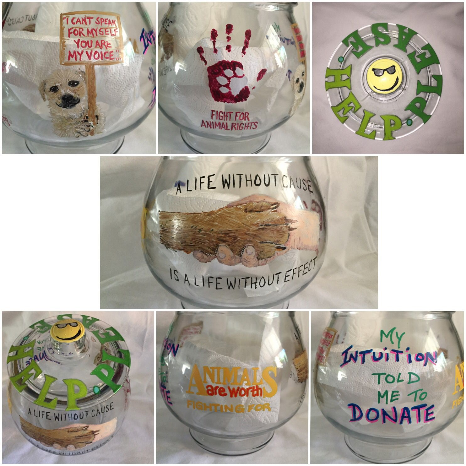 Donation Jar For Local Dog Rescue To Help Get People To Donate Donation Jar Funny Tip Jars Fundraising Money