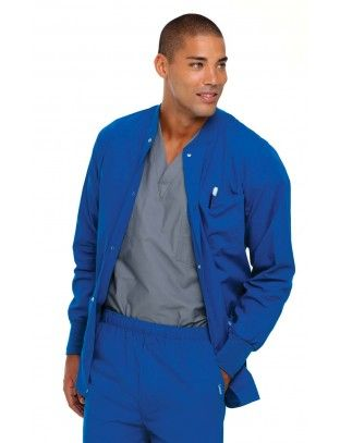 Landau 7551 Men's Warm Up Jacket in 2020 | Jackets, Scrub ...