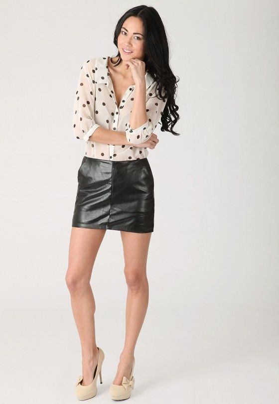 nice Mini Skirts As a Trend Assertion http://www.fashion367.com.au ...
