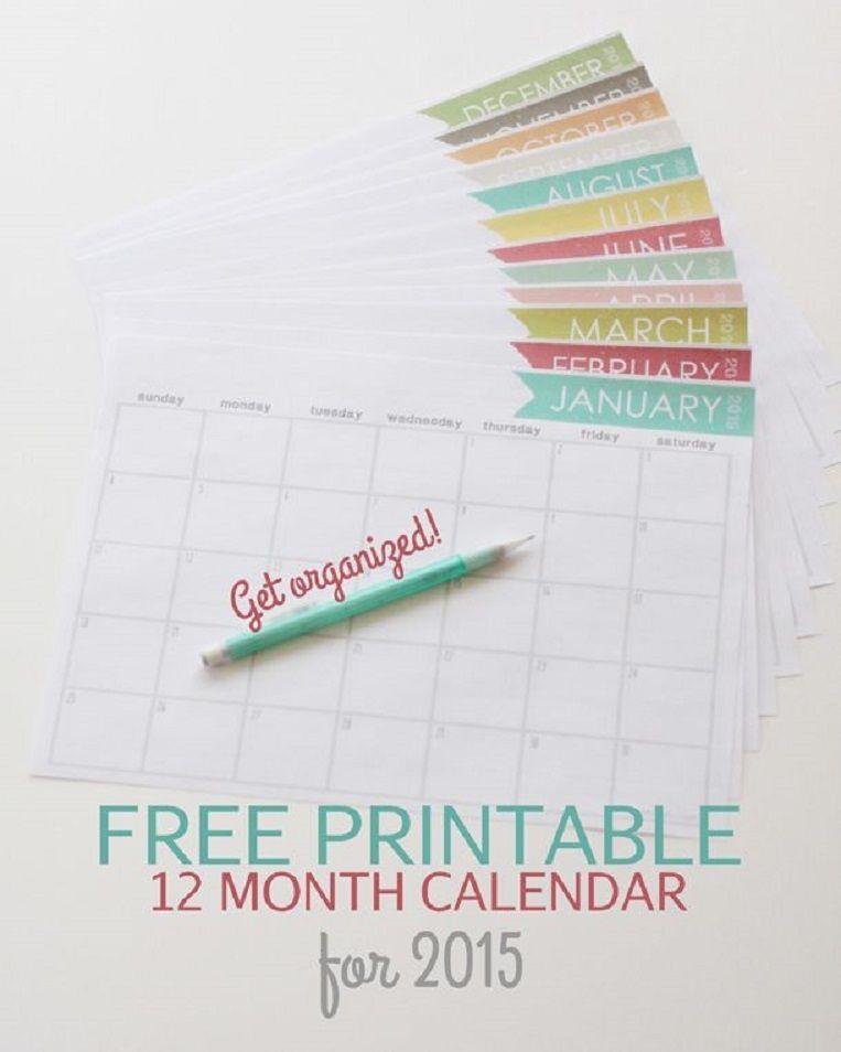 20+ New Years free printables Home Organization Free printable