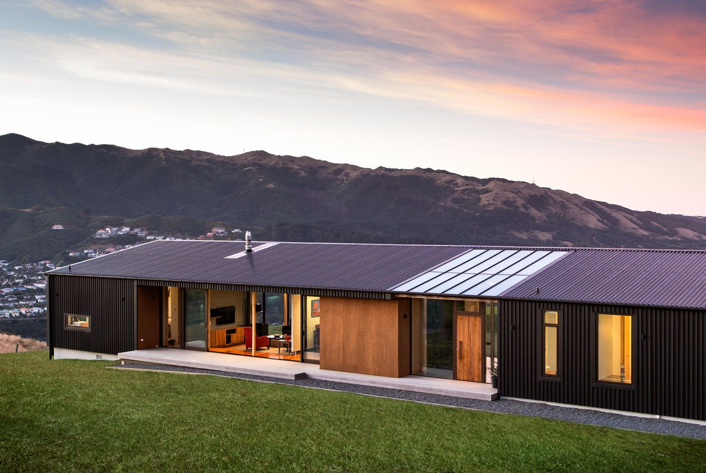 exterior NZ house | Housy House | Pinterest | Haus, Architects and House