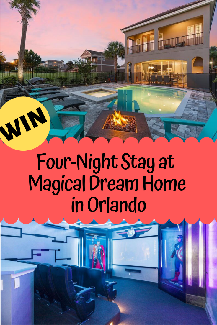 Win Four-Night Stay in Magical Vacation Home in Orlando   Current