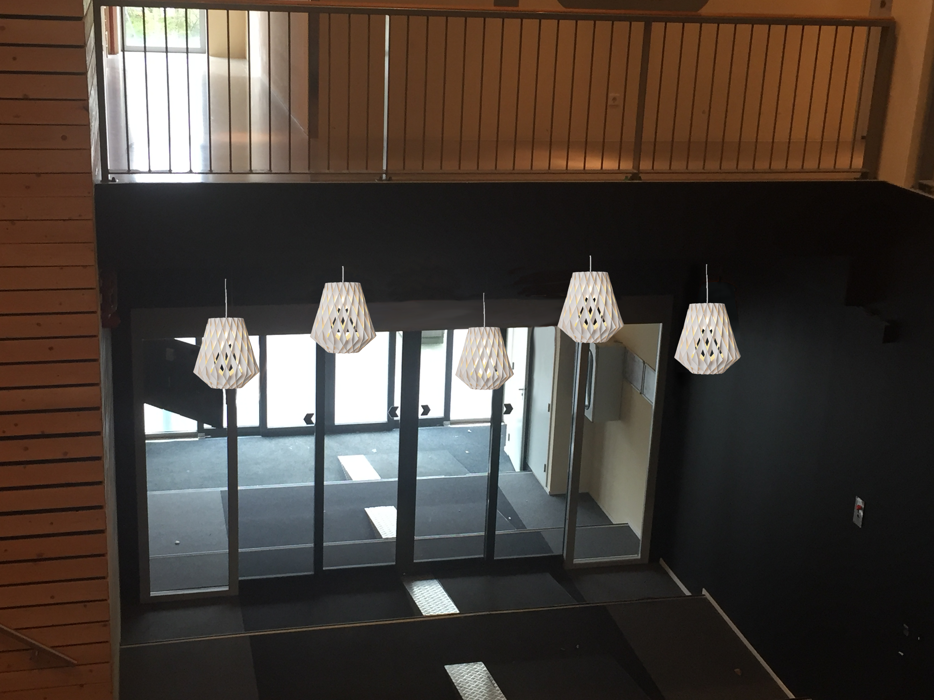 Ijsseldelta Center Zwolle met armatuur Pilke...#sfeerlicht #ledlicht ...