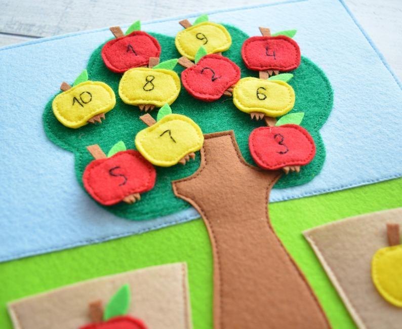 Photo of Montessori Quiet Baby Toy Libro para niños pequeños Página Tarjeta sensorial Juguete ecológico Una página 1-4 años