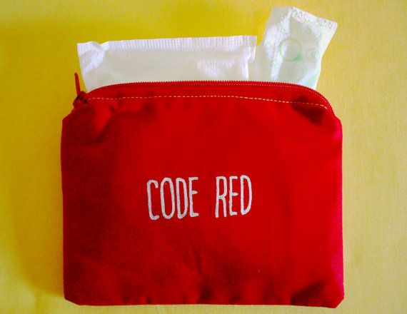 Code Red Period Bag