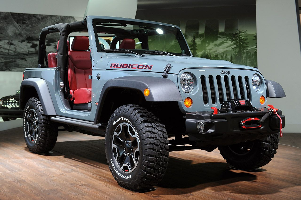 Jeep Wrangler 10th Anniversary Rubicon Red interior It's