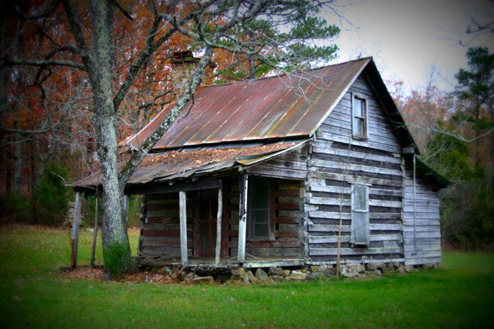 Old Farmhouse by marla bennett on | Cabins and cottages, Old farm ...