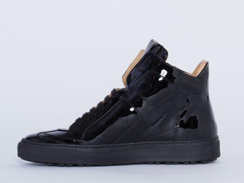 Cheap Shop For Buy Cheap Wholesale Price MM6 MAISON MARGIELA Patent Leather Sneakers Outlet Great Deals Original Cheap Price Sale Cheapest Price zHnydSQ