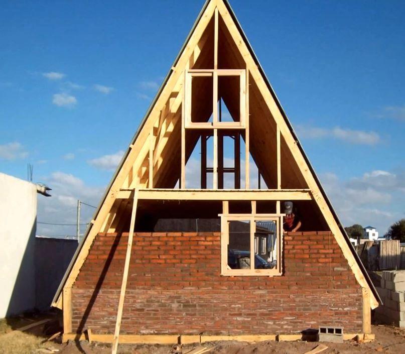 Como construir una caba a alpina paso a paso little shed - Como hacer una cabana de madera ...