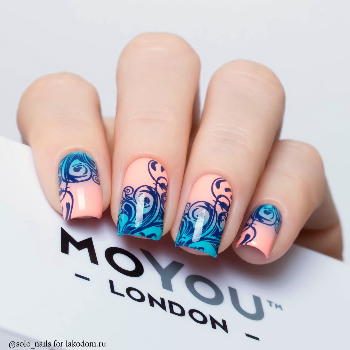Маникюр moyou london 86