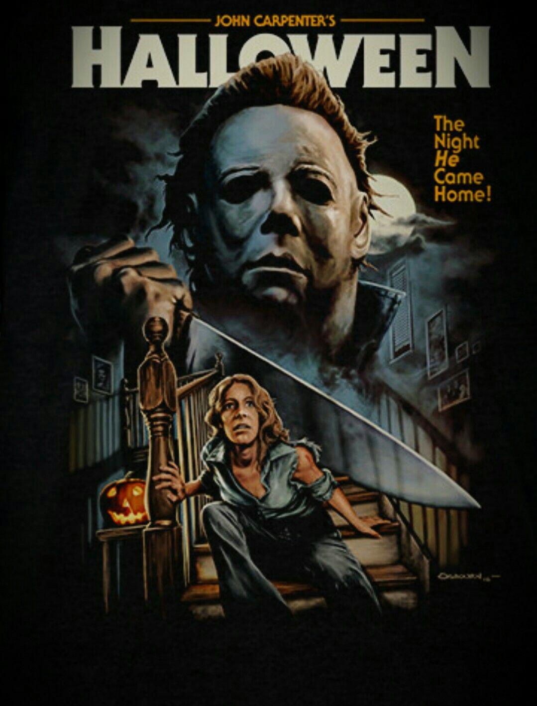 Halloween Horror posters, Horror movie art