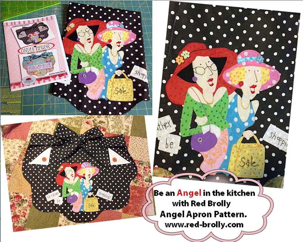 Red Brolly Angel apron. www.red-brolly.com | Quilting | Red ... on sewing curtains ideas, recycling ideas for kitchen, halloween ideas for kitchen, paint ideas for kitchen, christmas ideas for kitchen, storage ideas for kitchen, decorating ideas for kitchen, design ideas for kitchen, painting ideas for kitchen, computer ideas for kitchen, patchwork ideas for kitchen, kitchen ideas for kitchen,