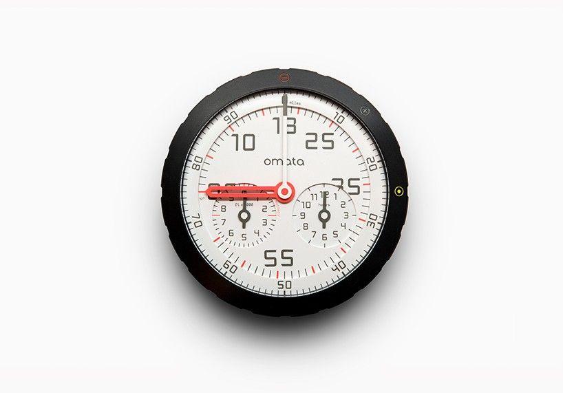 Omata One Analog Speedometer Bike Gps Bike Bicycle Speedometer