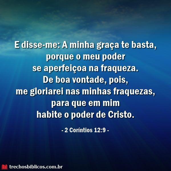 2 Corintios 12 9 Com Imagens Frases De Deus Frase Biblicas