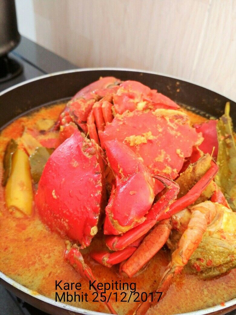 Javanesse Curry Crab Kare Kepiting Kepiting Dapur