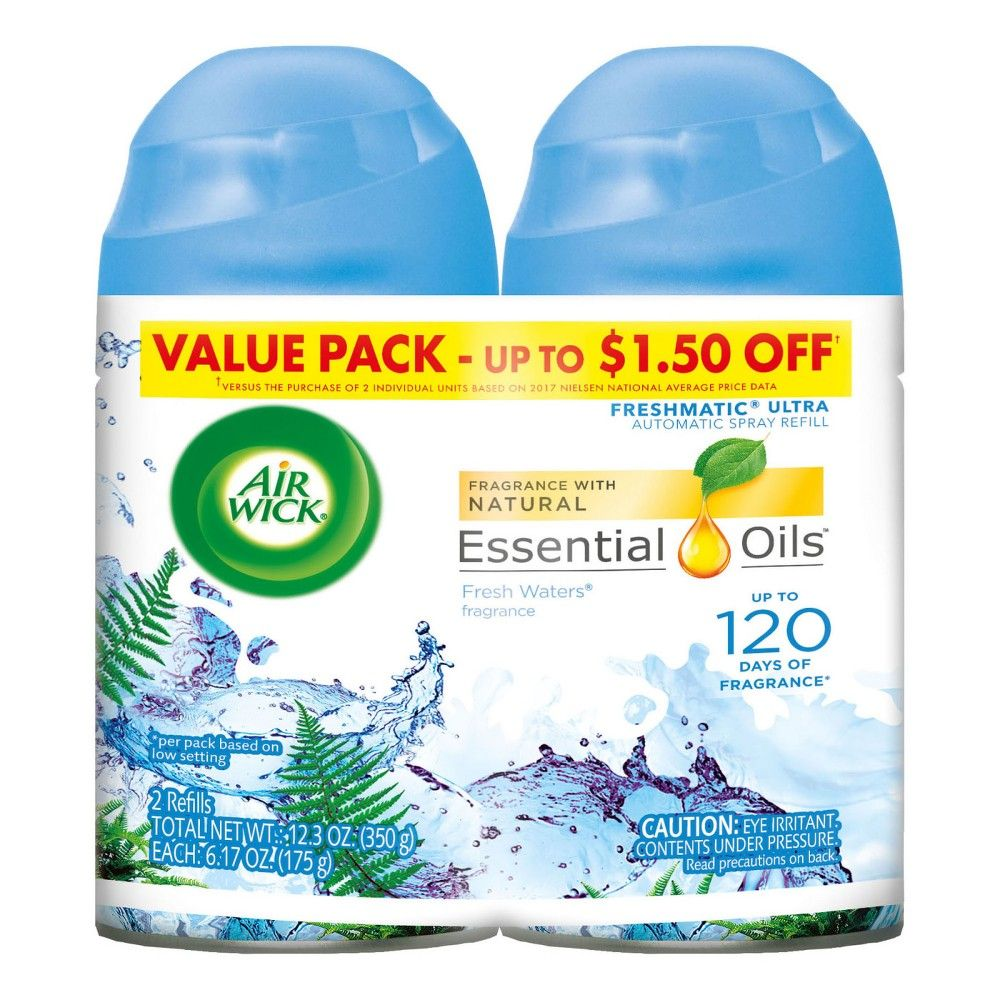 Air Wick Freshmatic Automatic Spray Air Freshener, Fresh