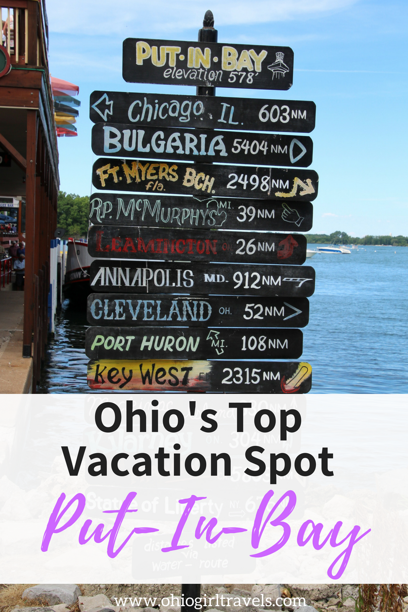 weekend getaway guide things to do in put in bay ohio travel rh pinterest com