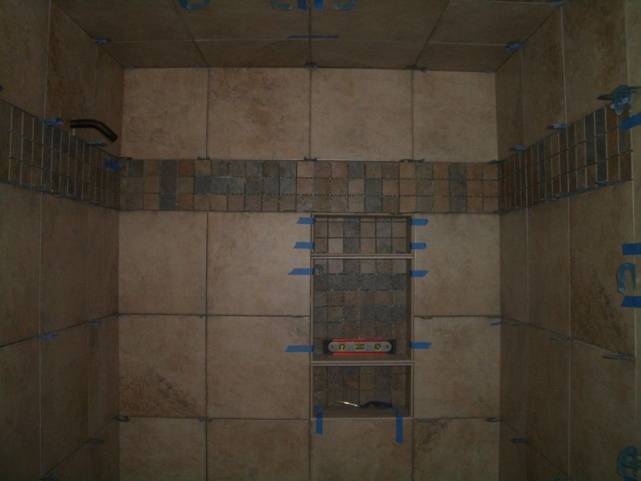 bathroom tile 12x12 design Bathroom. DIY Install Best