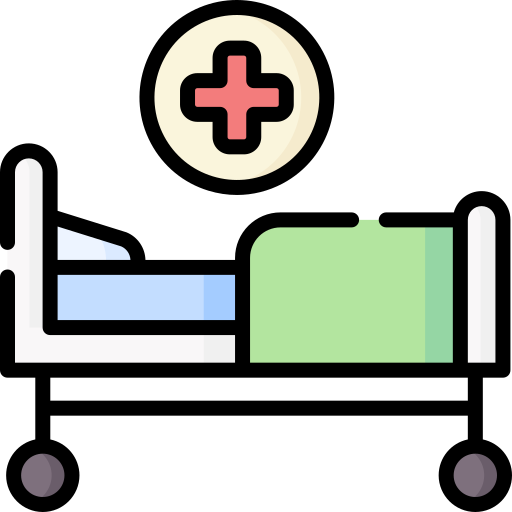 Hospital Bed Free Vector Icons Designed By Freepik Free Icons Vector Free Vector Icon Design