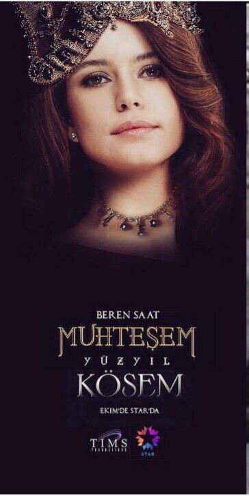 Beren Saat is Kösem Sultan.