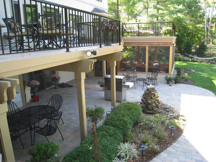 top 20 porch and patio designs and their costs caron lane ideas rh pinterest com