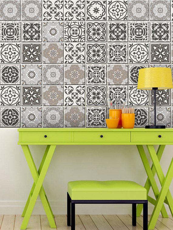 spanish set of 24 tiles decals tiles stickers tiles for walls rh pinterest ie