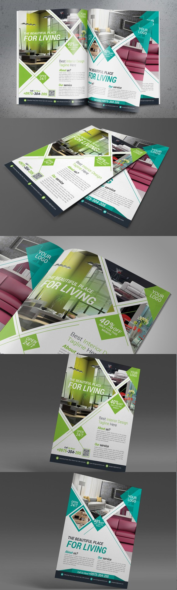 interior design flyer flyer templates flyer design flyer rh pinterest com
