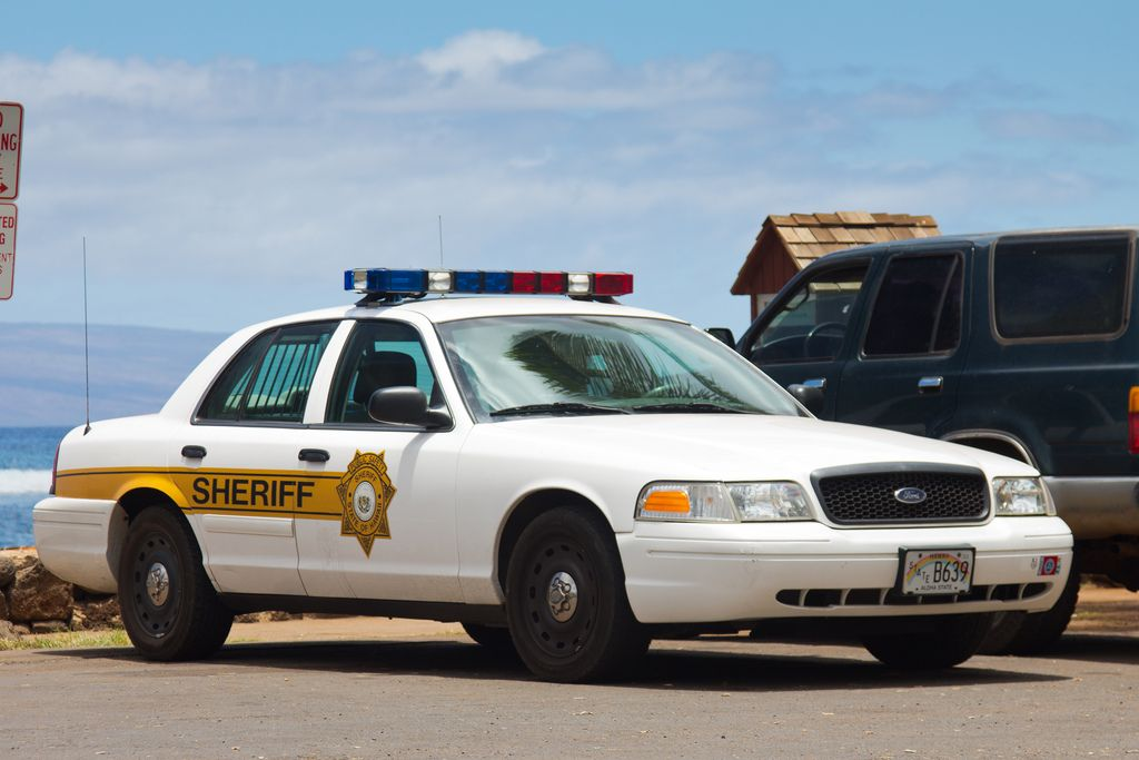 2008 Ford Crown Victoria Police Interceptor P71 Hawaii State