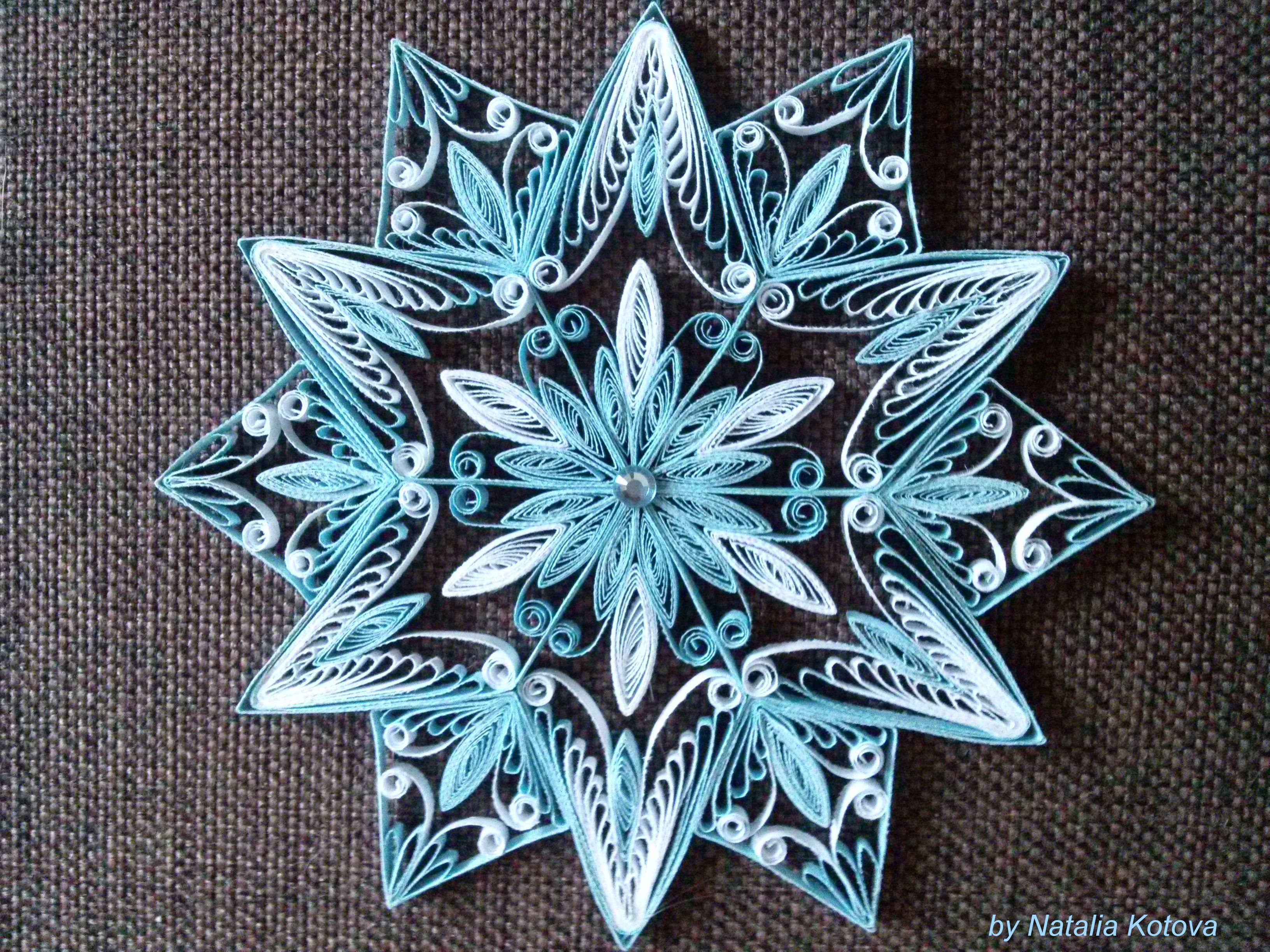 Intricate snowflake Neli QuillingQuilling IdeasPaper Intricate