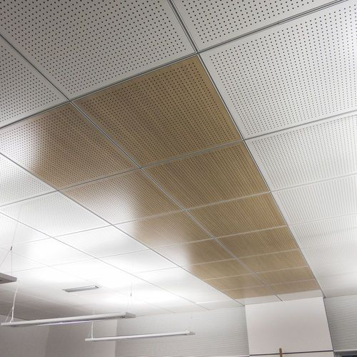Acoustic Suspended Ceiling Wooden Tile Panel 60x60 60x120 Fantoni Suspended Ceiling Panel Suspended Ceiling Tiles