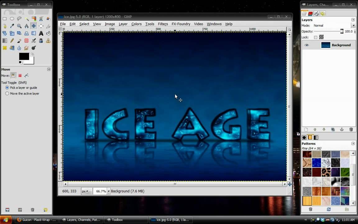 3d ice text in gimp computer tech stuff pinterest gimp 3d ice text in gimp baditri Images