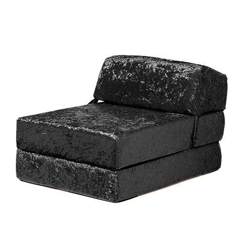 envie crushed velvet single chair bed sofa zbed seat foam fold out rh pinterest com