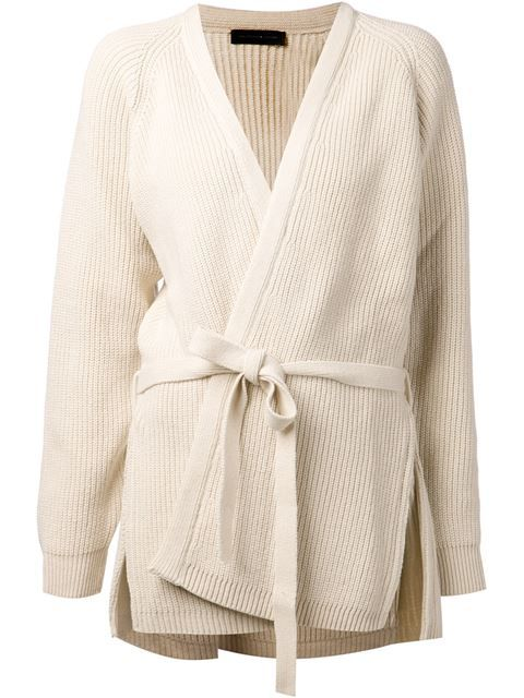 Christophe Lemaire Ribbed Cardi-coat - Just One Eye - Farfetch.com