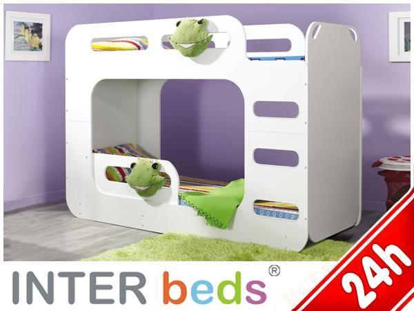 łóżko łóżka Piętrowe Dla Dzieci Max 2 90x200 Hit Pokój