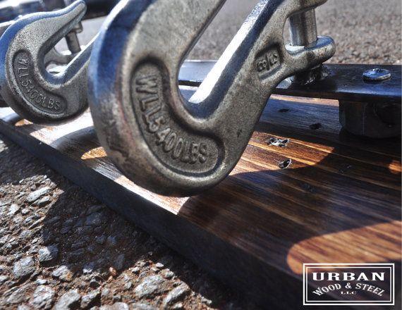 Abschleppwagen Hook Mantel & Hut-Rack von urbanwoodandsteel auf Etsy