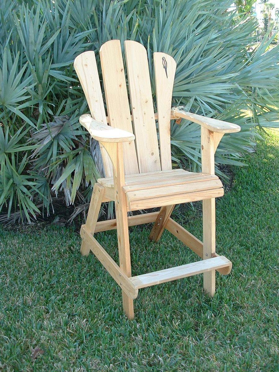 Custom Adirondack Chair - Extra Tall Design Natical
