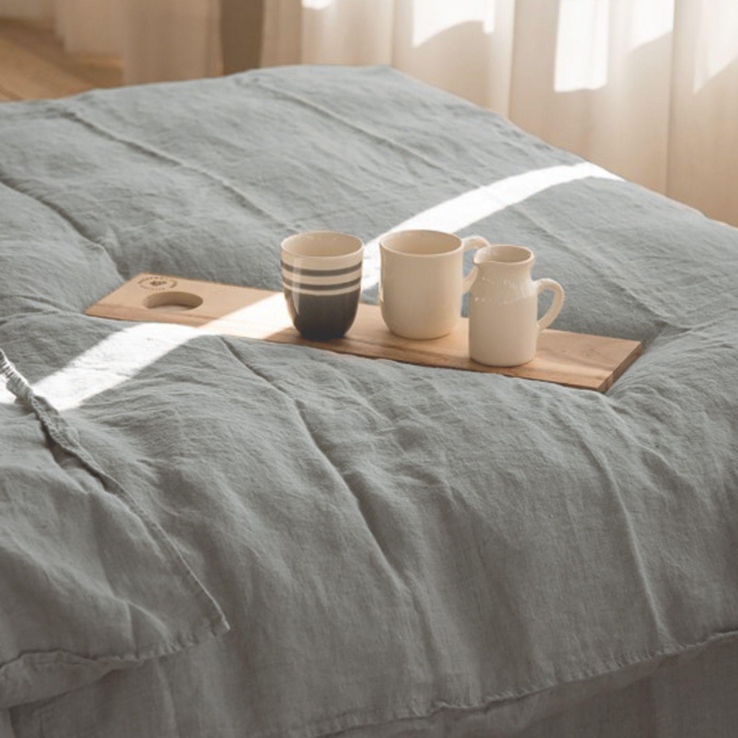 bettw sche aus leinen barefoot living by til schweiger interior bedroom decor textilien. Black Bedroom Furniture Sets. Home Design Ideas