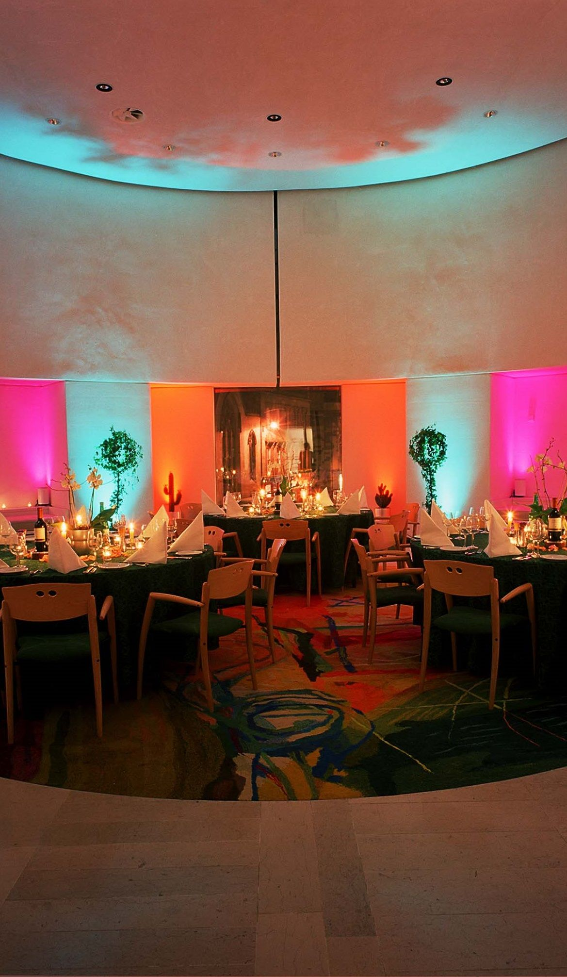 A dinner for 30 guests in the Bute Room at the National ...