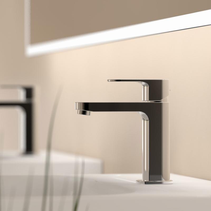 Treos Serie 173 Einhebel-Waschtischarmatur ohne Ablaufgarnitur - spiegelschrank badezimmer günstig