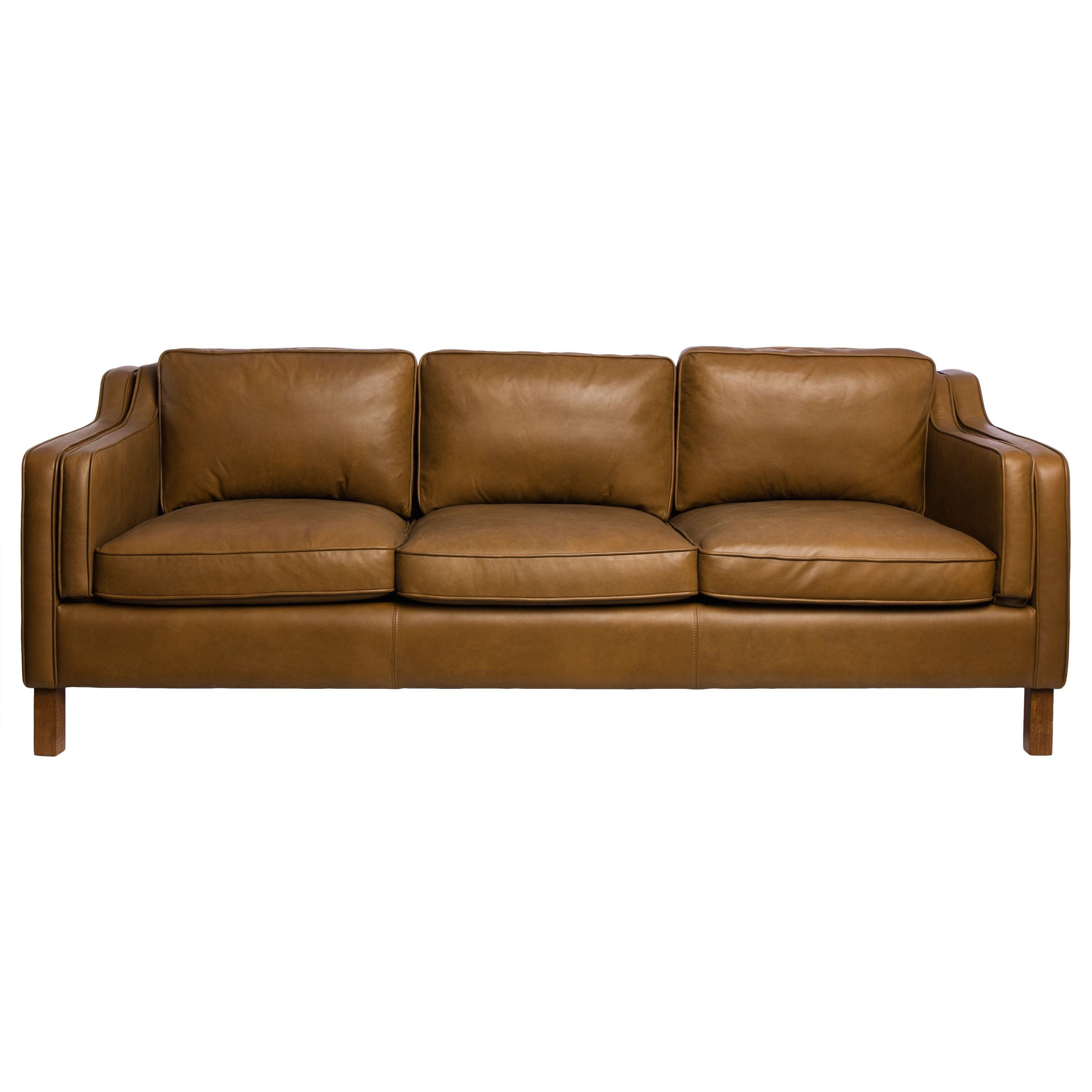 canape 86 inch oxford honey leather sofa overstock com shopping rh pinterest com