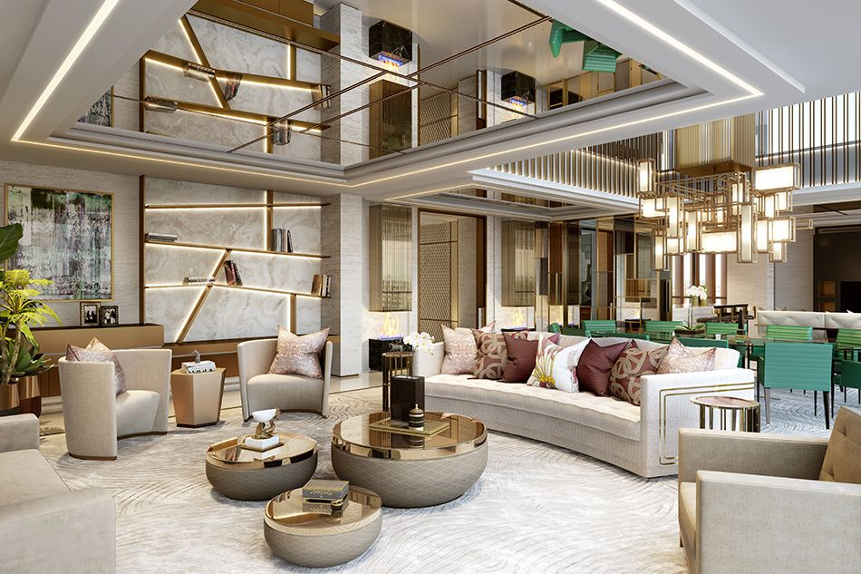 A Brit Does Bling With Politesse Luxury Living Room Design Luxury Living Room Interior Design Living Room