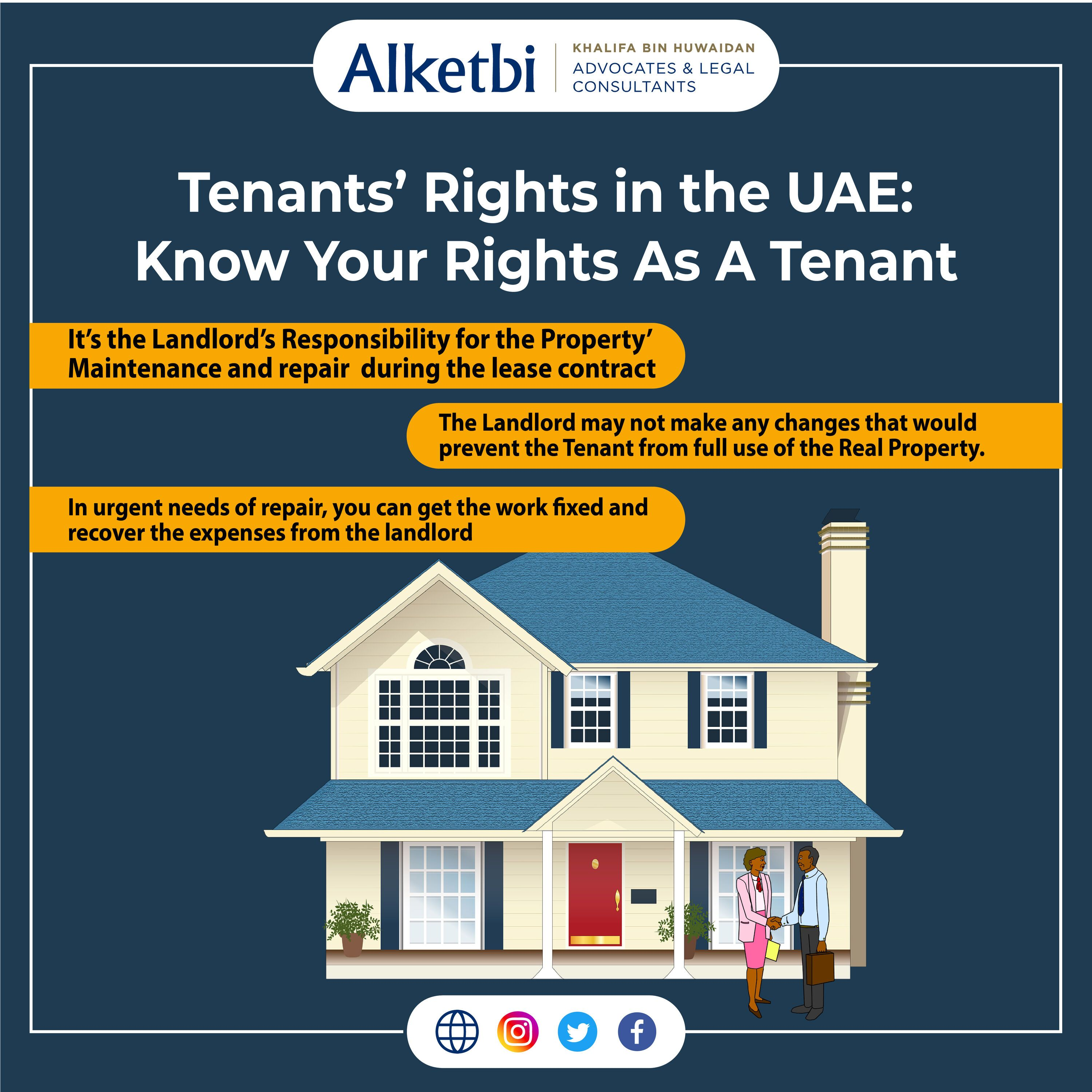 Know Your Rights As The Tenant If Youre Living As A Tenant In Uae But Are Not Sure About Your Rights As A Tenant Talk To Experts A In 2021 Law Living rights to a house